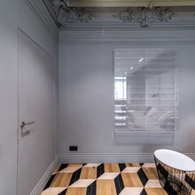 Фотография: Декор в стиле Классический, Современный, Эклектика, Гостиная, Интерьер комнат – фото на InMyRoom.ru