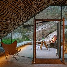"""Фото из портфолио """"Пристройка"""" с панорамной крышей в Норвегии – фотографии дизайна интерьеров на INMYROOM"""