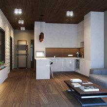 Фото из портфолио Neat Area 56m2 – фотографии дизайна интерьеров на INMYROOM