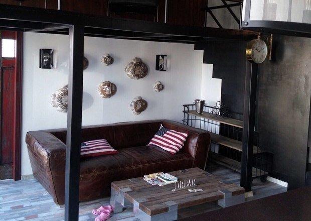 Фото из портфолио Двухэтажная квартира в стиле лофт – фотографии дизайна интерьеров на INMYROOM
