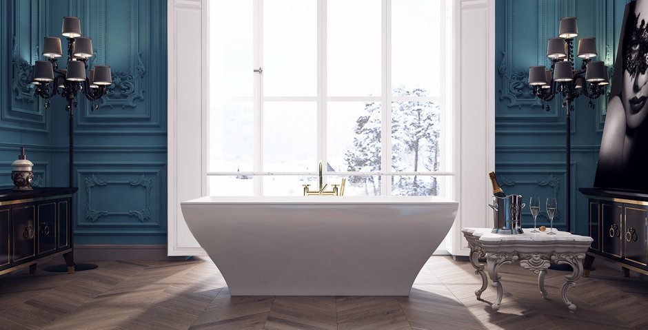 Фотография: Ванная в стиле Классический,  – фото на InMyRoom.ru
