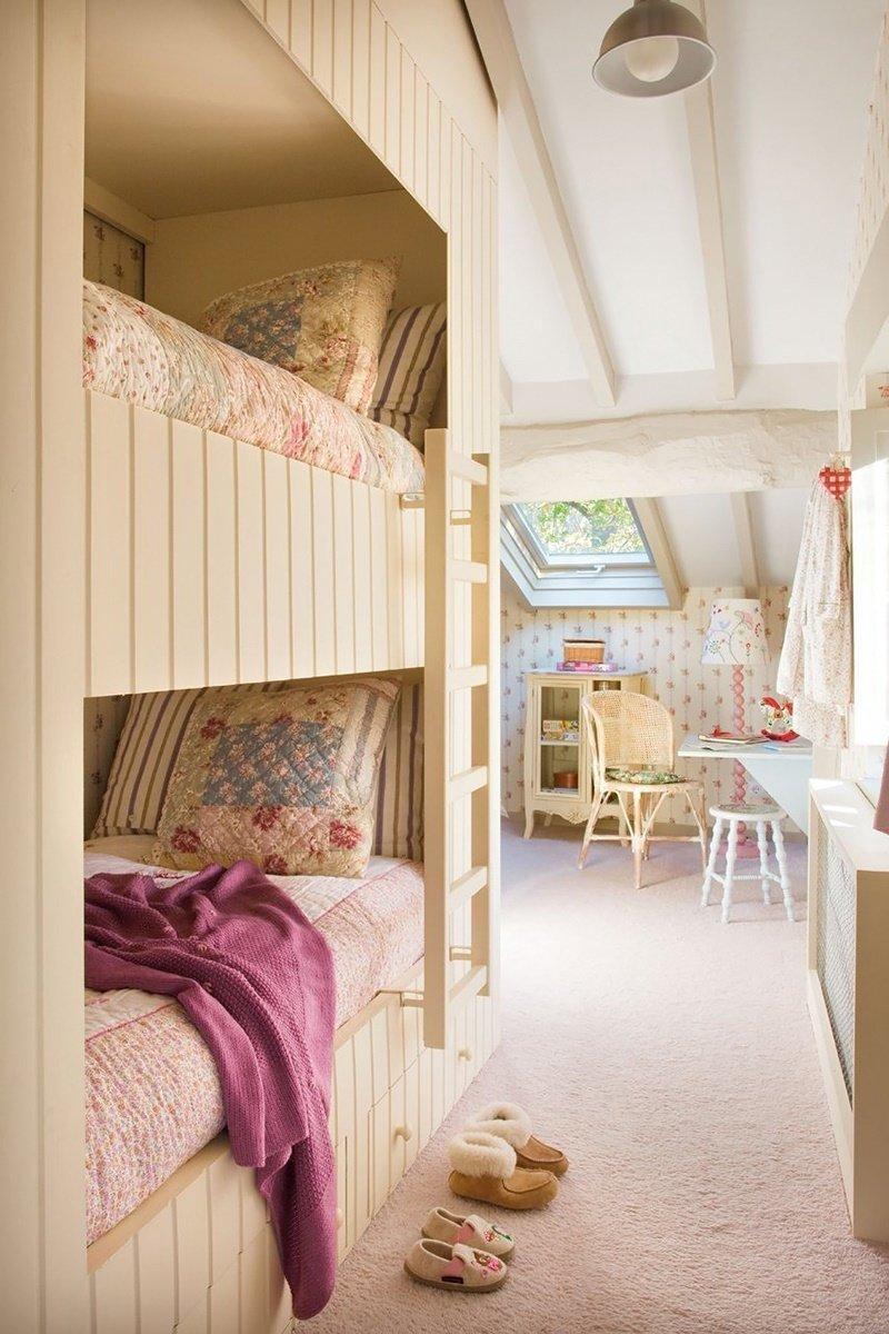 Фотография: Детская в стиле , Дом, Дома и квартиры – фото на InMyRoom.ru
