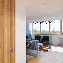 Фото из портфолио Дизайн интерьера двухуровневой квартиры в стиле loft – фотографии дизайна интерьеров на INMYROOM
