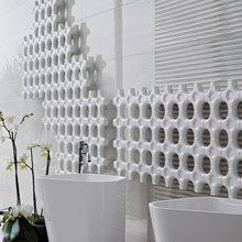 Фотография: Ванная в стиле Скандинавский, Современный, Эклектика – фото на InMyRoom.ru