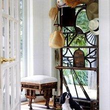 Фотография: Прихожая в стиле Кантри, Эклектика, Дом, Дома и квартиры, Колониальный – фото на InMyRoom.ru