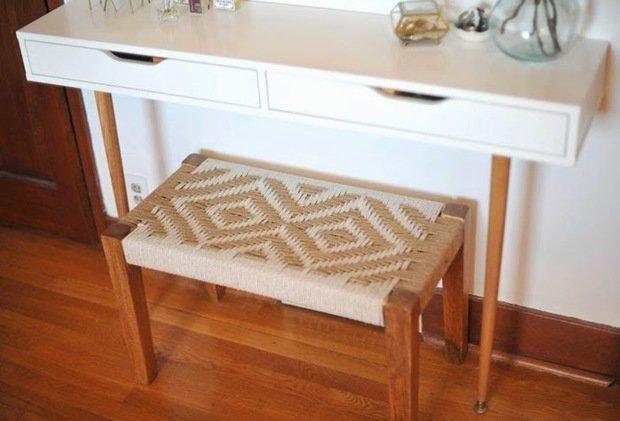 Фотография: Мебель и свет в стиле Скандинавский, DIY, ИКЕА, дизайн-хаки, переделка старой мебели фото, икеа-хак – фото на INMYROOM