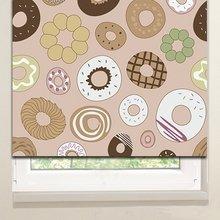 Рулонные шторы: Пончики