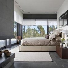 Фотография: Спальня в стиле Минимализм, Дом, Испания, Дома и квартиры – фото на InMyRoom.ru