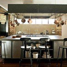 Фотография: Кухня и столовая в стиле Кантри, Лофт, Современный, Хай-тек – фото на InMyRoom.ru