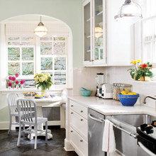 Фотография: Кухня и столовая в стиле Кантри, Интерьер комнат – фото на InMyRoom.ru