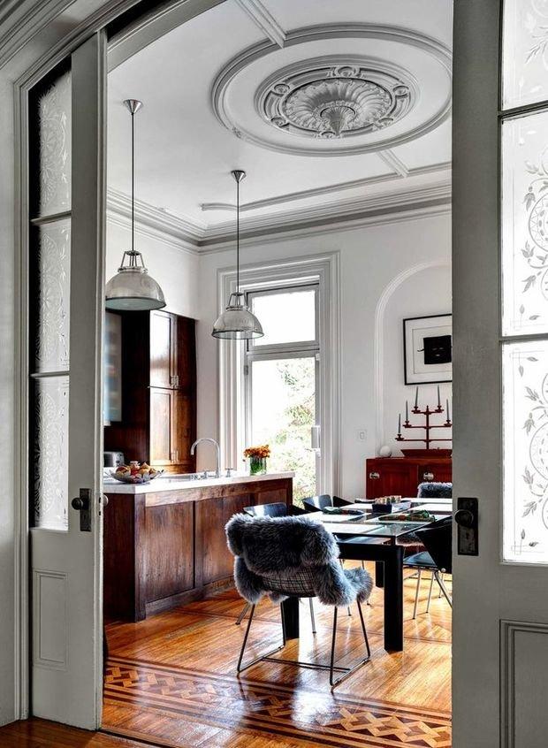 Фотография: Кухня и столовая в стиле Скандинавский, Эклектика, Ремонт на практике – фото на InMyRoom.ru