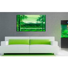Дизайнерская картина на холсте: Горный пейзаж