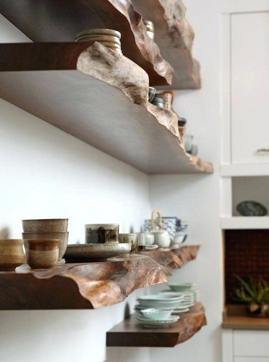 Фотография: Кухня и столовая в стиле Эко, Декор интерьера, дерево в интерьере, тренды 2019 – фото на INMYROOM