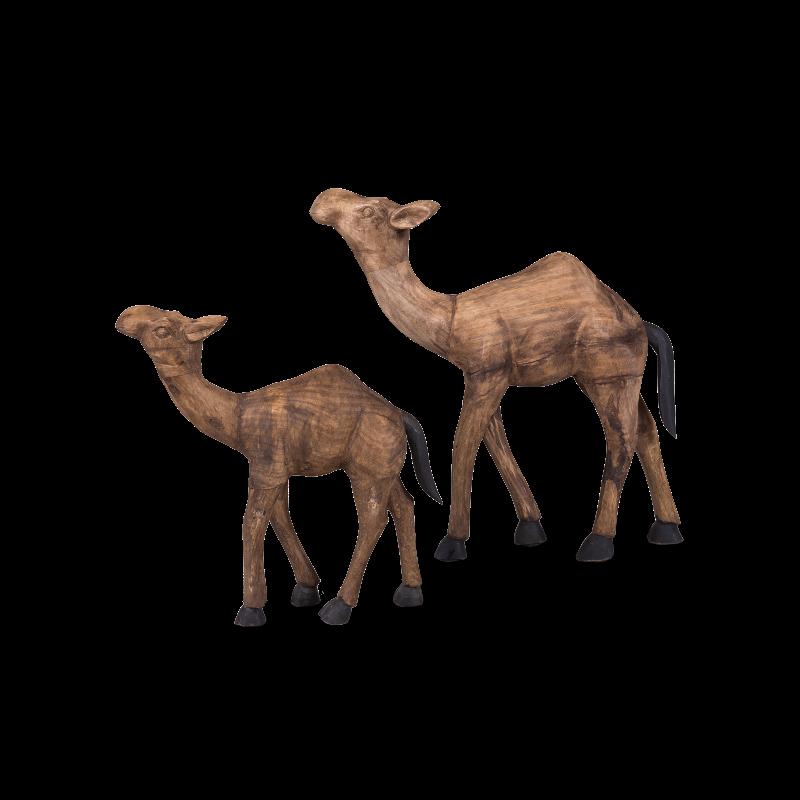 Набор из двух статуэток верблюды фото