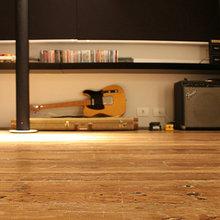 Фотография: Гостиная в стиле Минимализм, Квартира, Дома и квартиры, Сан-Паулу – фото на InMyRoom.ru
