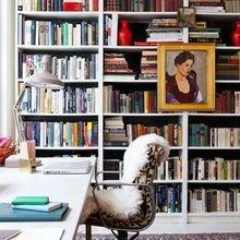 Фотография: Офис в стиле Скандинавский, Кабинет, Интерьер комнат – фото на InMyRoom.ru