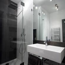 Фотография: Ванная в стиле Современный, Лофт, Квартира, Дома и квартиры, Индустриальный, Польша – фото на InMyRoom.ru
