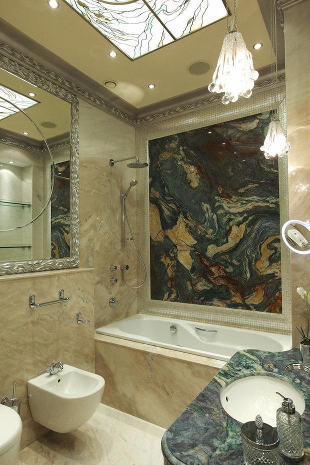 Фотография: Ванная в стиле Эклектика, Декор интерьера – фото на INMYROOM