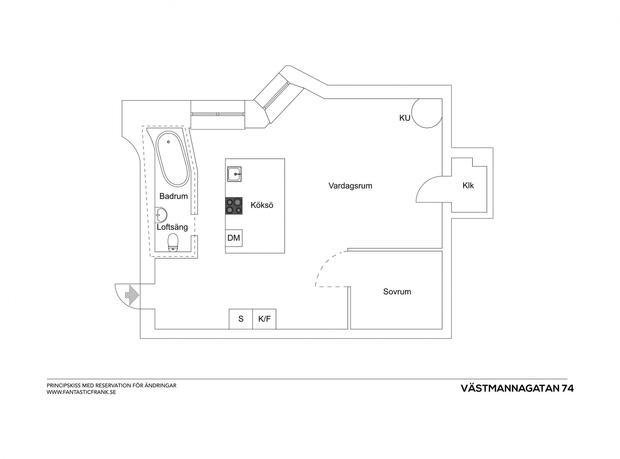 Фотография:  в стиле , Скандинавский, Декор интерьера, Малогабаритная квартира, Квартира, Студия, Швеция, Стокгольм – фото на InMyRoom.ru
