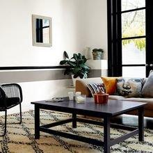 Фотография: Гостиная в стиле Восточный, Декор интерьера, Дизайн интерьера, Цвет в интерьере, Советы, Dulux, Серый – фото на InMyRoom.ru