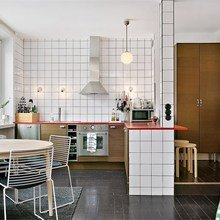 Фото из портфолио Katarina Bangata 58, Stockholm – фотографии дизайна интерьеров на InMyRoom.ru