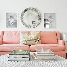 Фотография: Гостиная в стиле Кантри, Скандинавский, Декор интерьера, Дизайн интерьера, Цвет в интерьере – фото на InMyRoom.ru