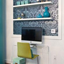 Фотография: Офис в стиле Современный, Декор интерьера, DIY, Обои – фото на InMyRoom.ru