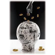"""Копилка """"The money box"""" разработанная итальянским дизайнером Лоренцо Петрантони"""