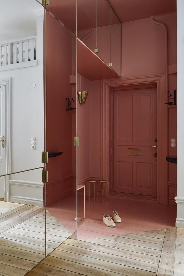 Фотография: Прихожая в стиле Современный, Скандинавский, Декор интерьера, Малогабаритная квартира, Квартира, Студия, Швеция, Стокгольм – фото на InMyRoom.ru