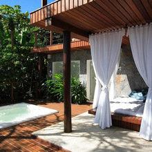 Фотография: Терраса в стиле Эко, Дома и квартиры, Городские места, Отель, Бразилия – фото на InMyRoom.ru