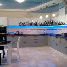 Фото из портфолио Кухня с Мегаполисом – фотографии дизайна интерьеров на InMyRoom.ru