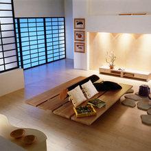 Фотография: Гостиная в стиле Современный, Восточный, Декор интерьера, Квартира – фото на InMyRoom.ru