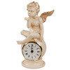 Часы каминные Ангел на шаре