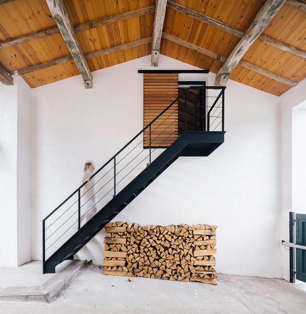 Фотография: Прихожая в стиле Скандинавский, Эко, Дом и дача – фото на INMYROOM