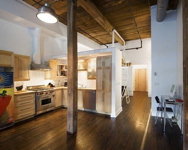 Фотография: Кухня и столовая в стиле Прованс и Кантри, Малогабаритная квартира, Квартира, Дома и квартиры – фото на InMyRoom.ru