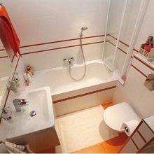 Фотография: Ванная в стиле , Малогабаритная квартира, Квартира, Индустрия, События – фото на InMyRoom.ru