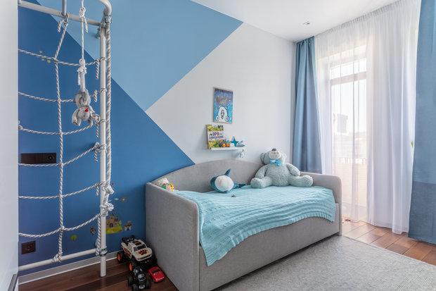 Фотография: Детская в стиле Современный, Квартира, Проект недели, Москва, 4 и больше, 60-90 метров, Спецпроект – фото на INMYROOM