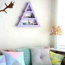 Фотография: Декор в стиле Кантри, Малогабаритная квартира, Квартира, Цвет в интерьере, Дома и квартиры, Цветы – фото на InMyRoom.ru