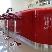 Фото из портфолио Кафе в автоцентре Ситроен – фотографии дизайна интерьеров на InMyRoom.ru
