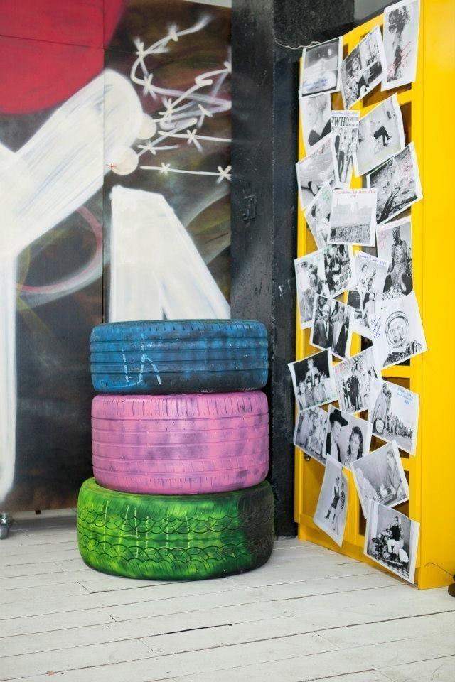 Фотография: Декор в стиле Лофт, Декор интерьера, Освещение, Дизайн интерьера, Цвет в интерьере, Ольга Евдокимова – фото на InMyRoom.ru