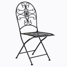 Складной стул «Берси» (черный антик)