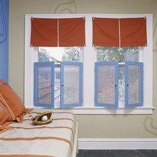 Фотография: Декор в стиле Кантри, Декор интерьера, Декор дома, Шторы, Окна – фото на InMyRoom.ru