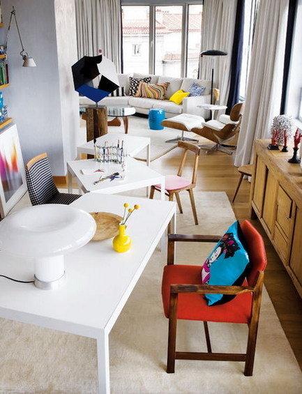 Фотография: Кабинет в стиле Скандинавский, Эклектика, Квартира, Дома и квартиры – фото на INMYROOM