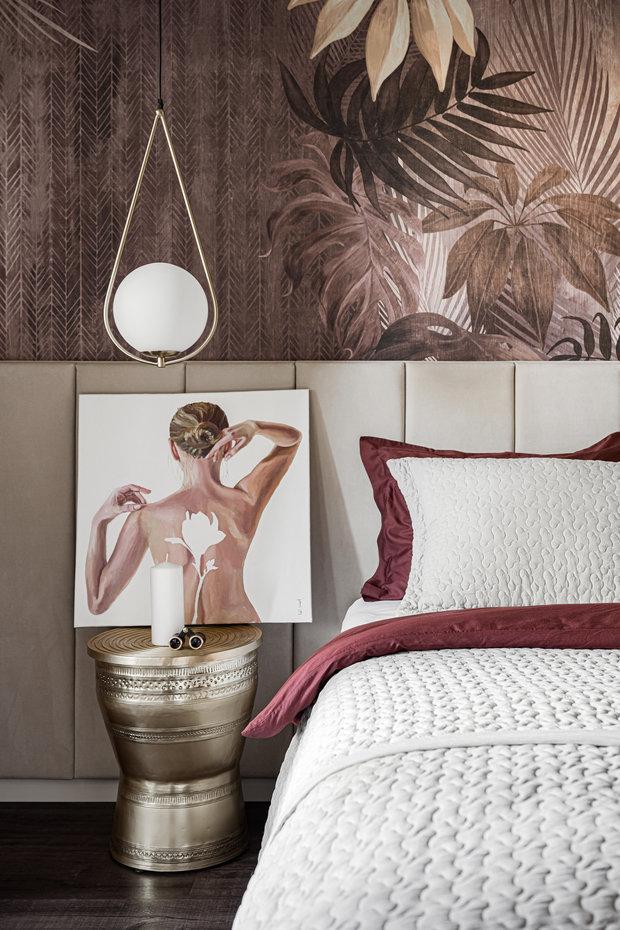 Фотография: Спальня в стиле Современный, Квартира, Проект недели, Челябинск, 3 комнаты, Более 90 метров, Денис Тарасенко – фото на INMYROOM