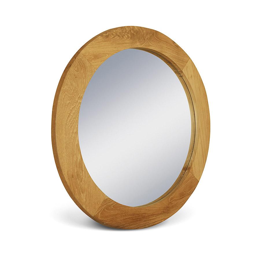 Купить Настенное зеркало Teak&Amp;Water с рамой из массива тика, inmyroom, Индонезия