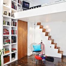 Фотография: Прихожая в стиле Скандинавский, Малогабаритная квартира, Квартира, Швеция, Дома и квартиры – фото на InMyRoom.ru