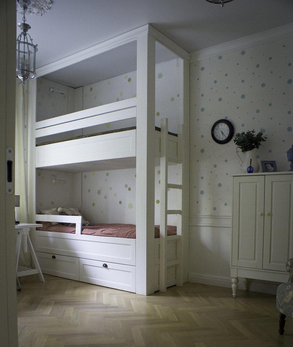 Фотография: Детская в стиле , Современный, Квартира, Дома и квартиры, Проект недели – фото на InMyRoom.ru