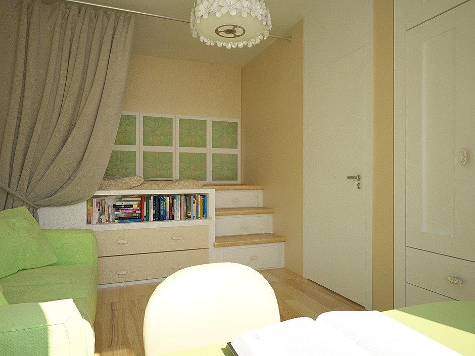 Фотография: Гостиная в стиле Современный, Квартира, Дома и квартиры, Проект недели, Пентхаус – фото на InMyRoom.ru