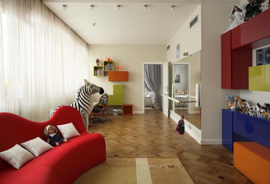 Фотография: Детская в стиле Современный, Эклектика, Классический, Квартира, Дома и квартиры, Модерн, Ар-нуво – фото на InMyRoom.ru