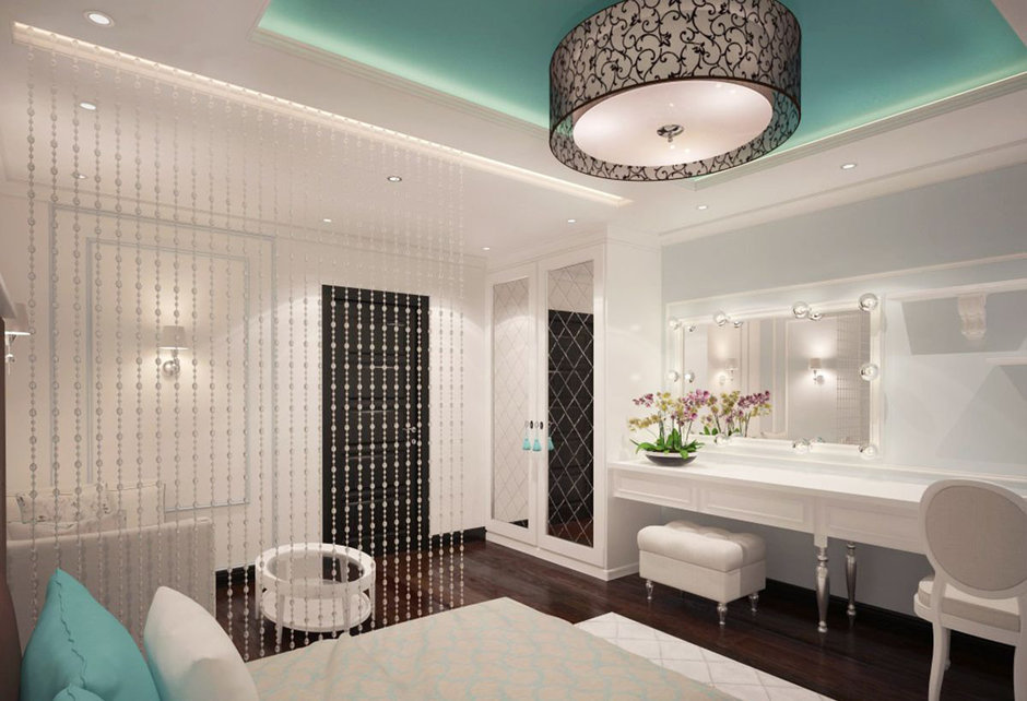 Фотография: Спальня в стиле Прованс и Кантри, Классический, Эклектика, Квартира, Проект недели – фото на InMyRoom.ru